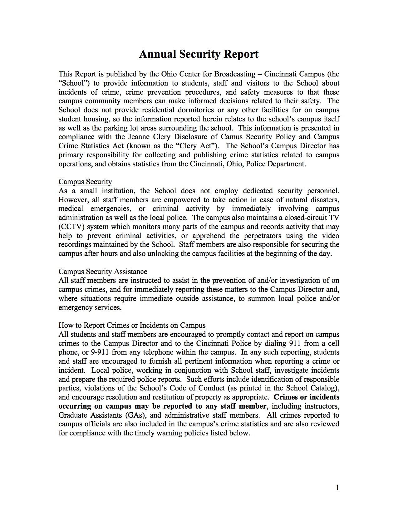 Annual-Security-Report-Cincinnati