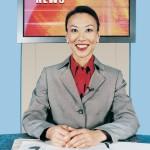 Female Sports Broadcaster