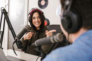 Promote podcasting blog