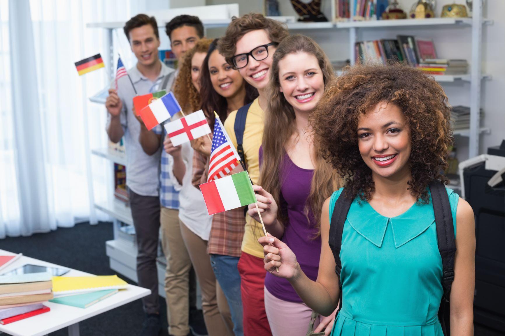 International students at M&S Schools